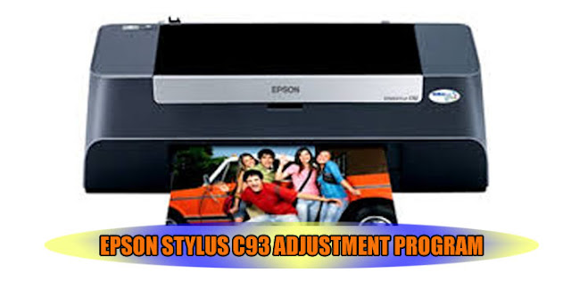Epson Stylus C93 Printer Adjustment Program