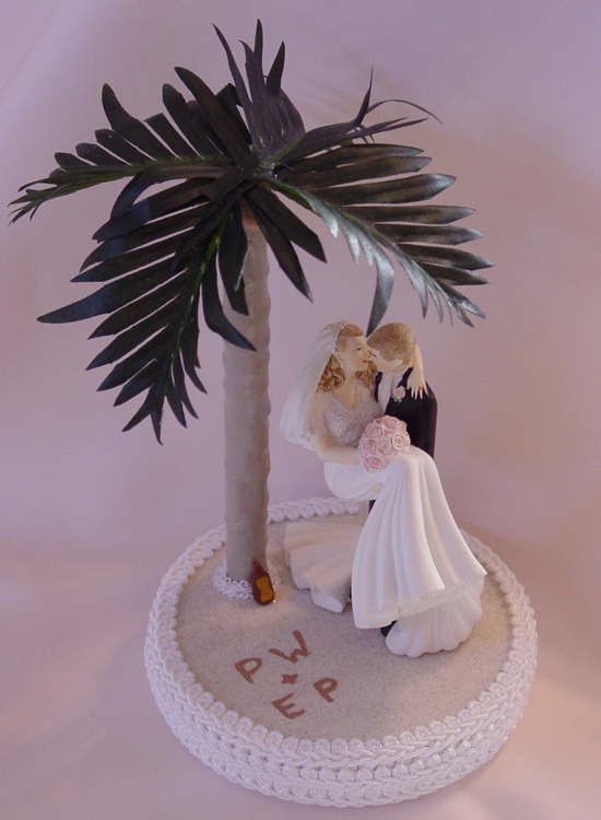 beach themed wedding cake toppers entertainment 4 u theme wedding cakes 11154