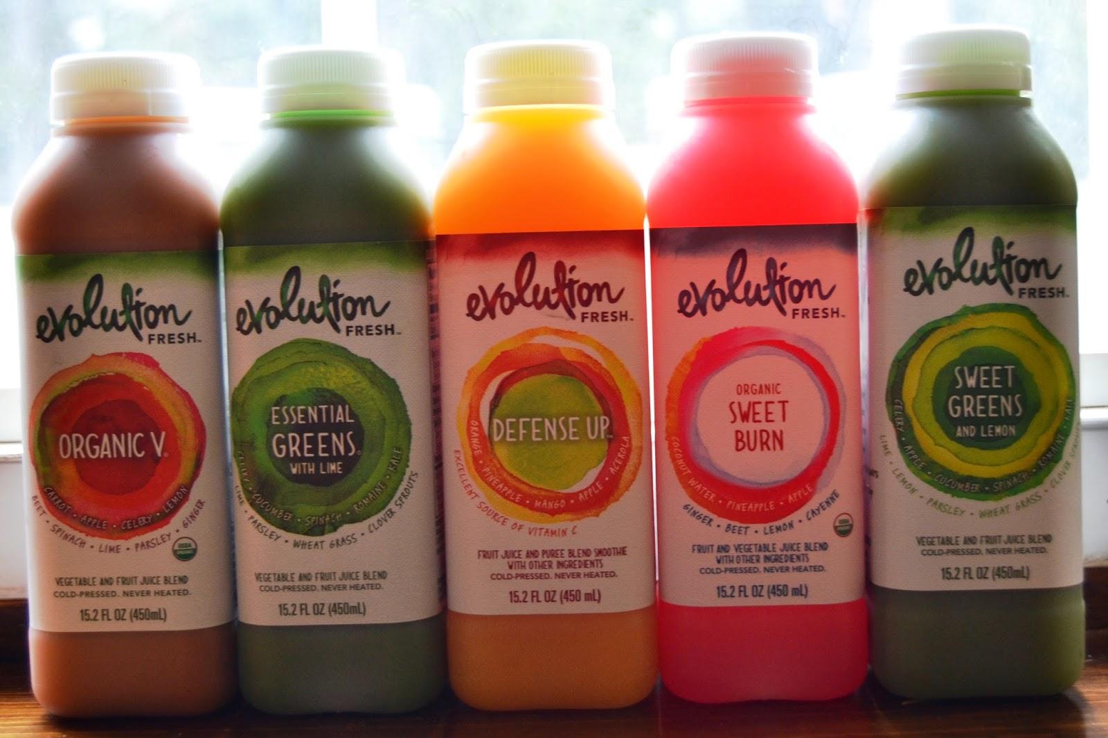 Evolution Fresh Juices