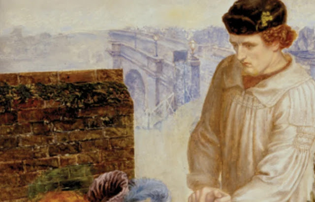 """""""Encontrada"""" por Dante Gabriel Rossetti, 1851. Heróis"""
