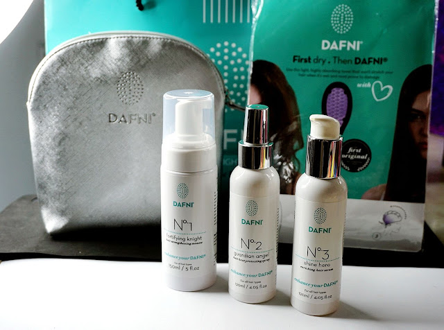 DAFNI HAIR REVIEW SHINE LINE