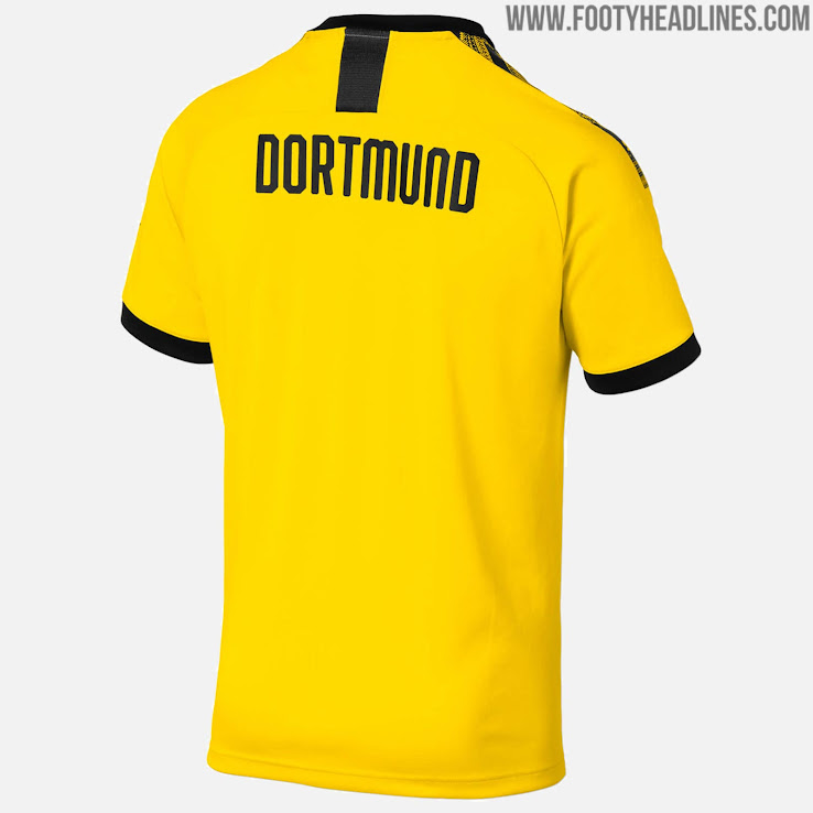 9b524a09cc1 Borussia Dortmund 19-20 Home Kit Released - Footy Headlines