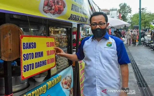Viral Makanan Malioboro Harga Tak Wajar, Tiga Warung Ditutup