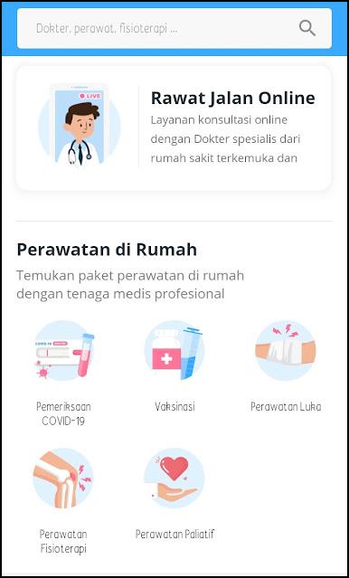 layanan kesehatan aplikasi aido