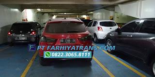 Ekspedisi FARHIYAtrans mengirim mobil Mitsubishi Outlander dari Surabaya tujuan ke Makassar door to door dengan kapal roro dan driving, estimasi perjalanan 2-3 hari.