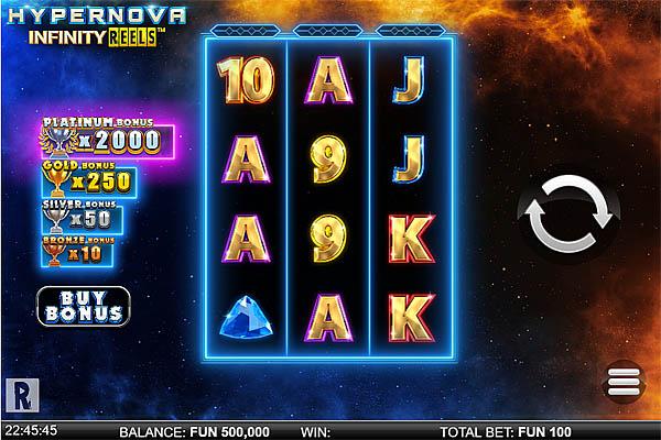 Main Gratis Slot Indonesia - Hypernova Infinity Reels Relax Gaming