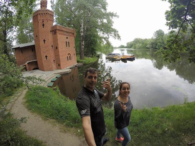 Palacio Wilanów Varsovia lago