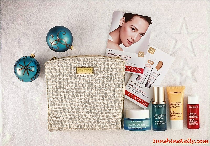 Clarins Hydration Gel Essentials Set, Clarins Christmas set, Clarins gift set, Clarins, Clarins malaysia, Gift Sets, Christmas Gift,