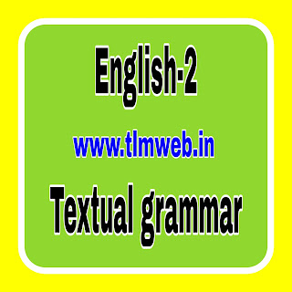 English -2 Textual Grammar