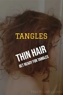 Tangles and lots of them if you don't brush your hair