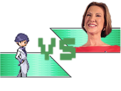 The Wonderful 1237 Carly Fiorina versus vs minigame endorsement fight