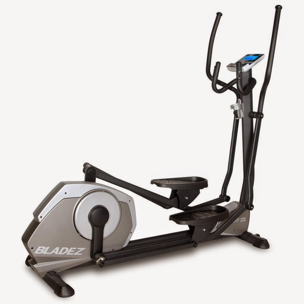 Bladez Fitness E700i Elliptical Trainer, review, top-of-the-range elliptical trainer, 26 programs and 24 resistance levels, plus iConcept technology for additional options