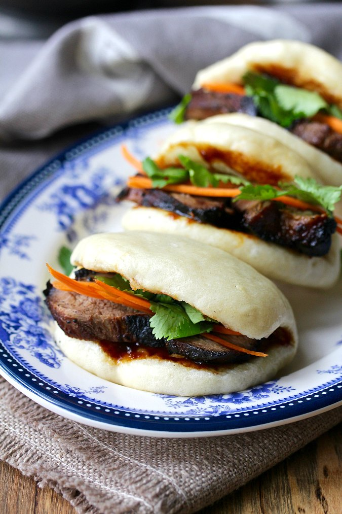 Bao Buns filled with char sui