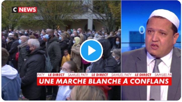 VIDÉO : Pour l'imam Chalghoumi, les Français méritent le Prix Nobel pour ne pas avoir attaqué de mosquées malgré l'assassinat de leur jeunesse, de leurs policiers et de leurs professeurs