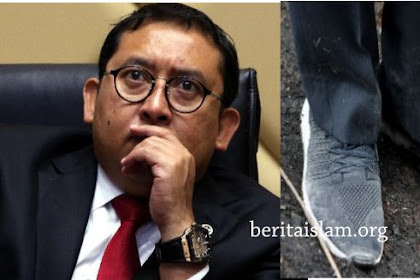 "Puisi Fadli Zon ""Sajak Sepatu Kotor"" Sindir Jokowi"