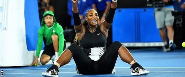 Australian Open 2017: Serena Williams beats Venus Williams to set Grand Slam record