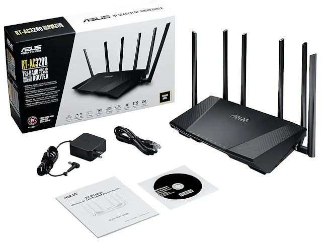 ASUS AC3200 Wireless WiFi Router
