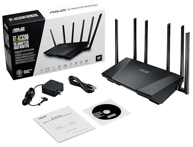 ASUS AC3200 Wireless WiFi Router Review