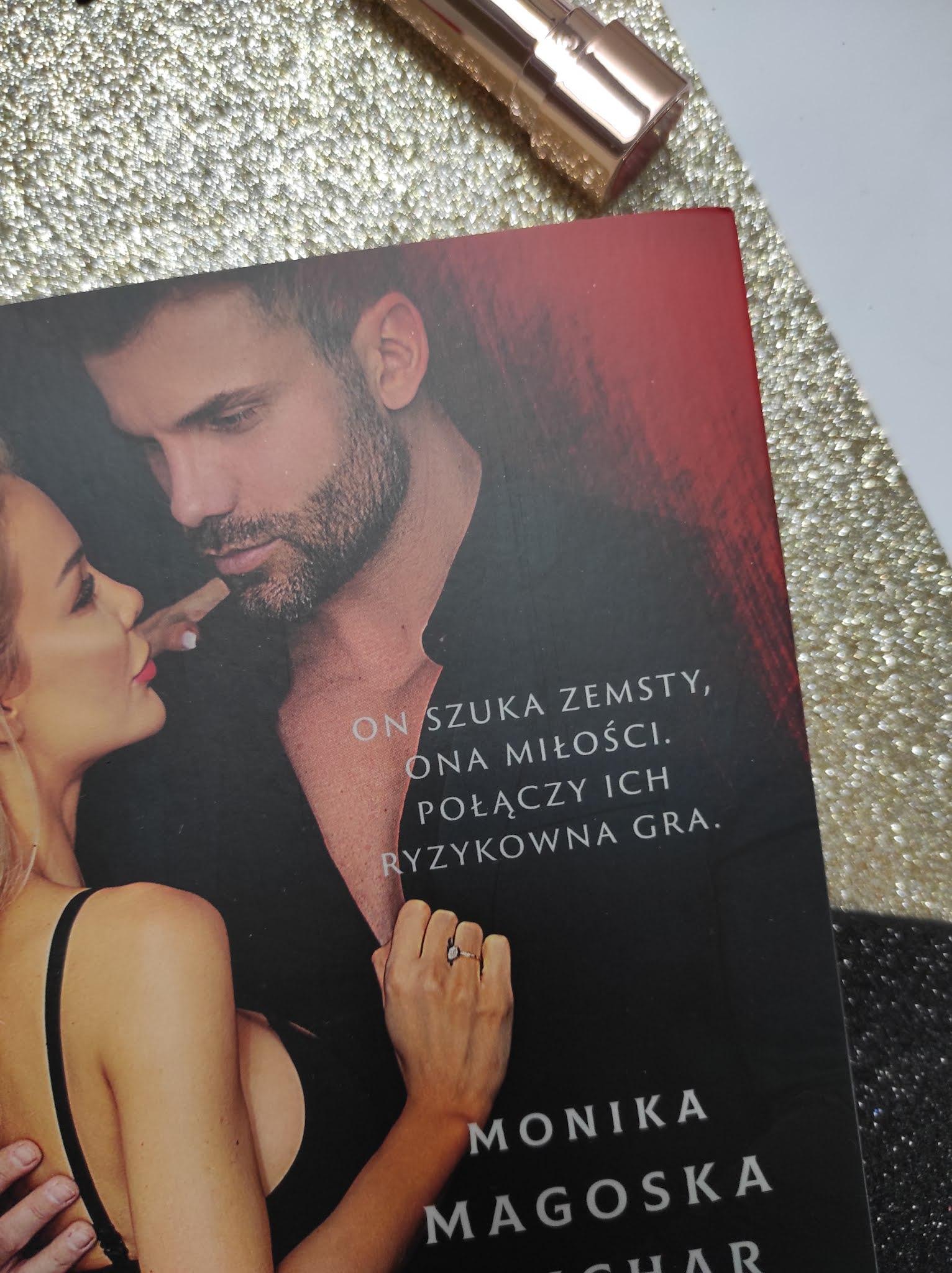"""Szantaż"" Monika Magoska Suchar - recenzja - Patronat Medialny"