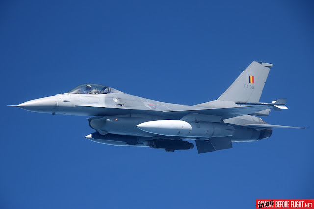 BELGIAN AND NETHERLANDS AIR FORCES WILL PROTECT BENELUX AIRSPACE