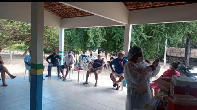Nota rápida: Vacinação contra a Covid-19 no povoado Laranjeiras