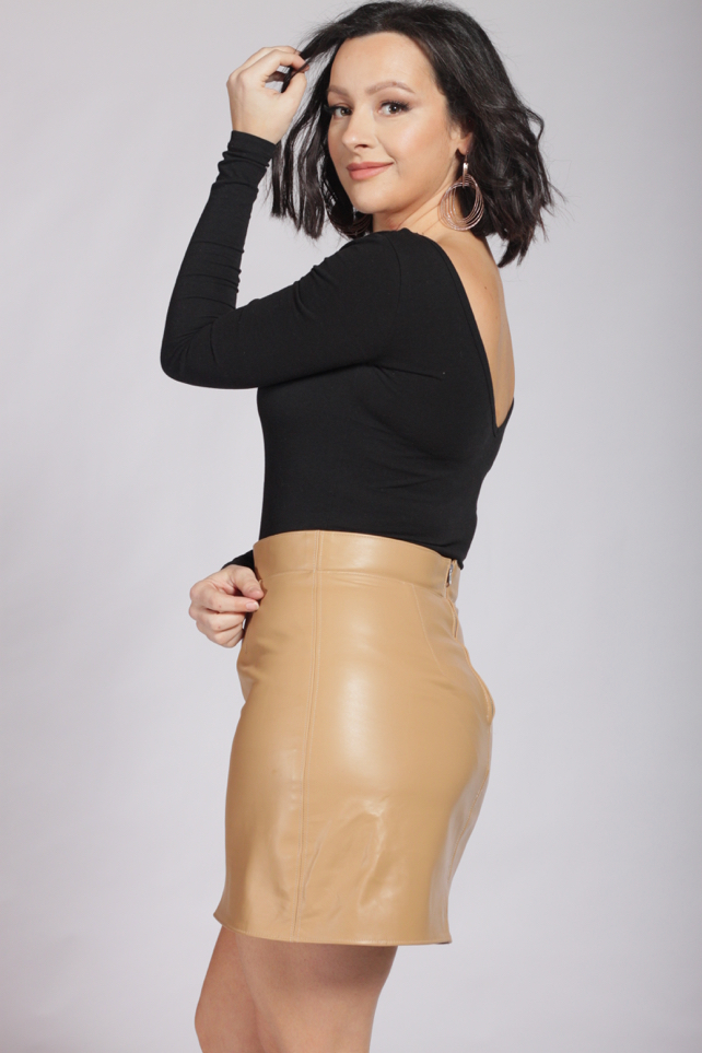 Julia Bobbin - Leather Skirts