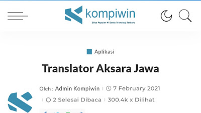 Cara Translate Aksara Jawa Ke Latin Tanpa Aplikasi