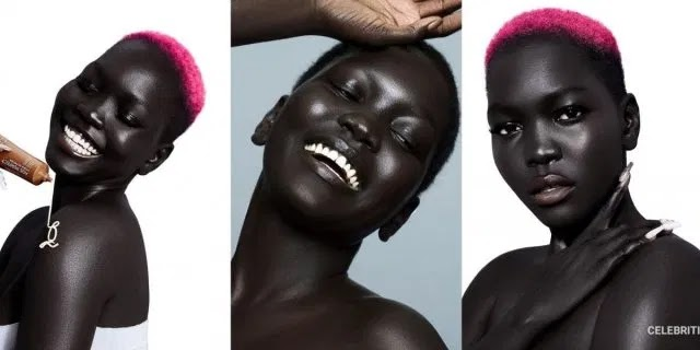 South Sudanese model Nyakim Gatwech now worth $4m for her beautiful dark skin tone