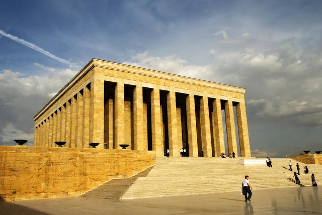 Mausoléu Atatürk em Ancara na Turquia