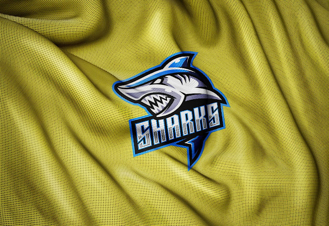 Sports Jersey Fabric Texture Photoshop Logo Mockup