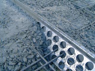 Junta  de dilatación y retracción para pavimentos de hormigón