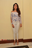 Actress Pragya Jaiswal Latest Pos in White Denim Jeans at Nakshatram Movie Teaser Launch  0040.JPG