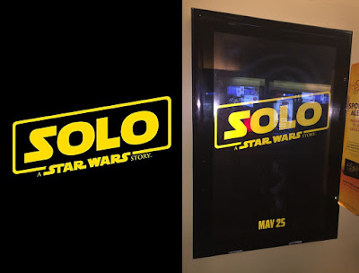 Solo: A Star Wars Story Classic Theatrical Teaser One Sheet Movie Poster