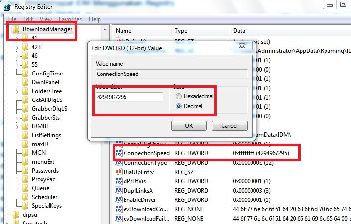 Rahasia cepat download dengan IDM
