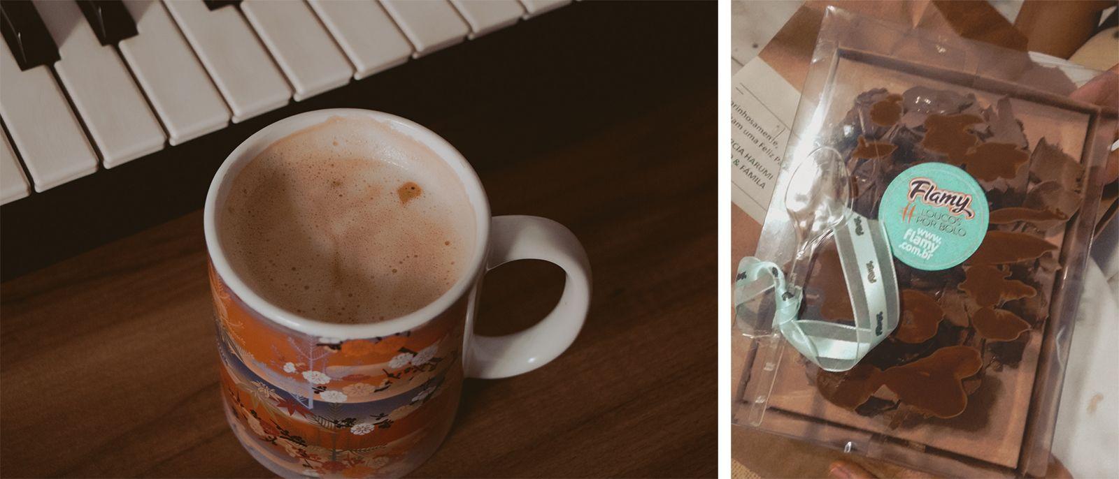 A bunch of random pics café e ovo páscoa