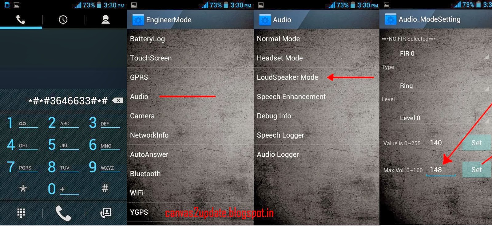 How To Increase Loudspeaker Volume On Micromax Canvas 2 | Micromax