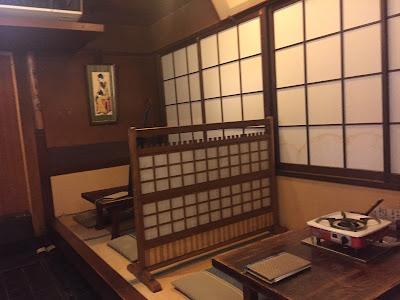 Local de sushi vacio