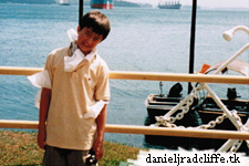 Google+: Daniel about being pale and filming The Tailor of Panama