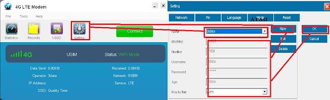Cara Menggunakan Modem USB Wifi  Hotspot