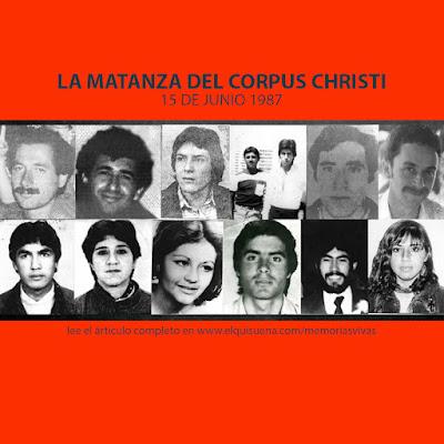 MEMORIA VIVA #9 LA MATANZA DEL CORPUS CHRISTI (OPERACIÓN ALBANIA)