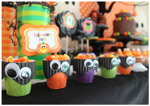 Be Different...Act Normal: Halloween Dessert Table Ideas