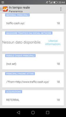 Come bloccare traffic-cash.xyz su google analytics