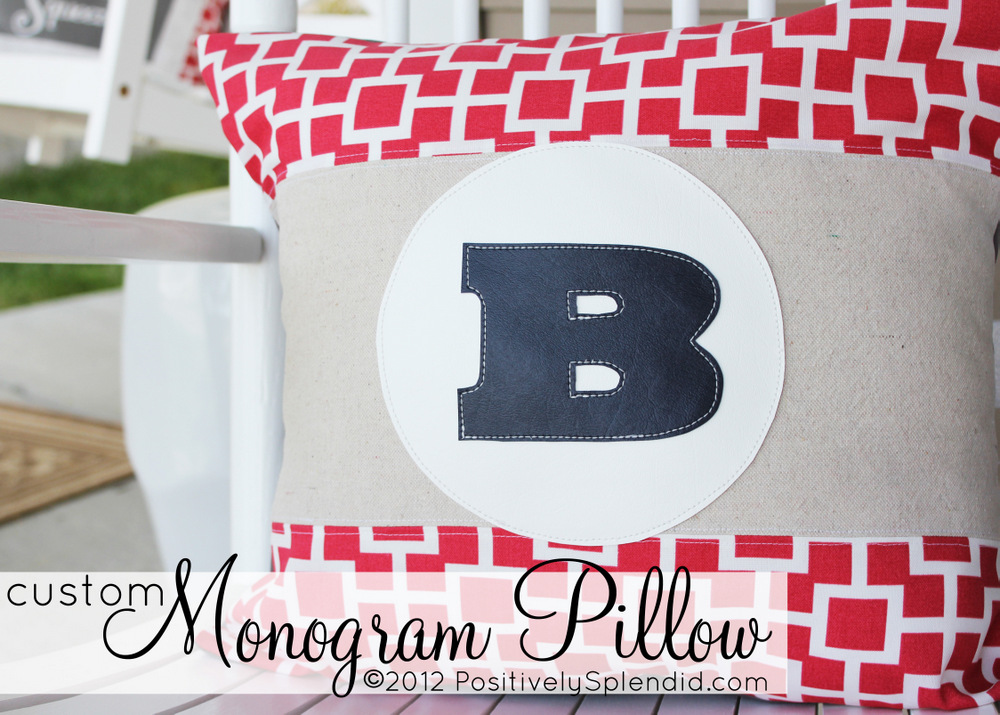 pin pillows eleven number monogrammed four pinterest pillow by monogram