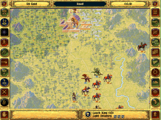 Leech King Rival Hero | Fantasy General Screenshot