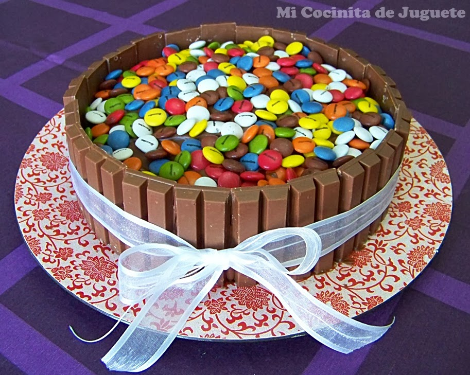 Tarta De Carton Decorada Con Papel