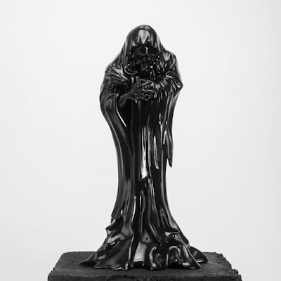 Death Grim Edition Resin Figure by Godmachine x Mighty Jaxx