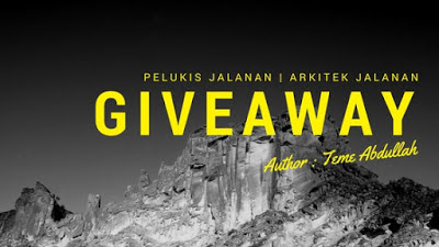 Giveaway : Pelukis Jalanan & Arkitek Jalanan by stnrsyfhR