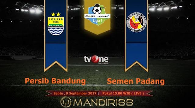 Persib Bandung tengah percaya diri dalam melakoni putaran dua kompetisi Liga  Berita Terhangat Prediksi Bola : Persib Bandung Vs Semen Padang , Sabtu 09 September 2017 Pukul 15.00 WIB @ TVONE