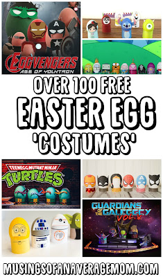 Easter egg costumes