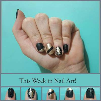 The first in a series of weekly posts about easy nail art and what I wore on my nails during the week